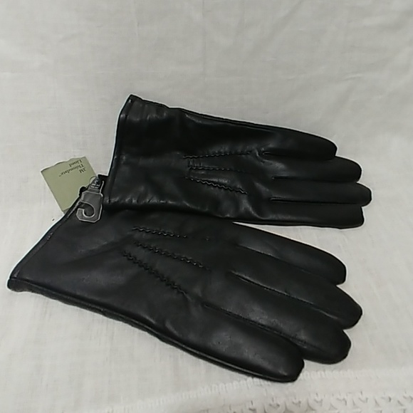 Goodfellow Accessories Mens Basic Leather Dress Gloves Black Xl